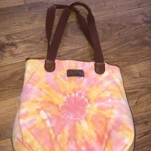 tie dye lucky brand bag! never been used